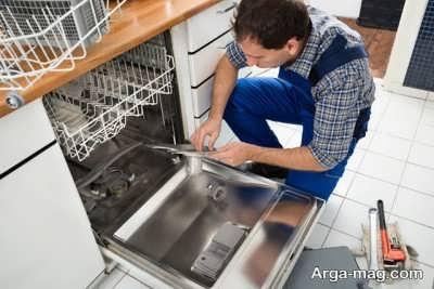 دلایل تخلیه نشدن آب ماشین ظرفشویی