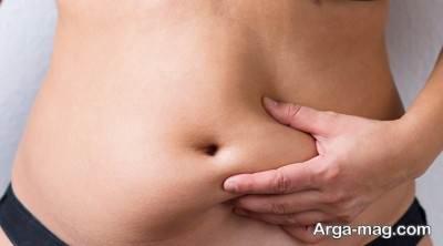 روش های ساده از بین بردن چربی شکم
