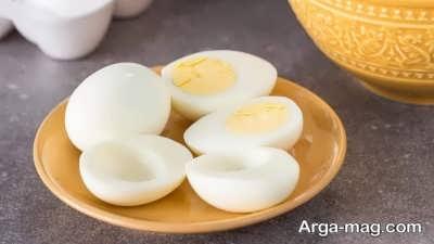 نحوه ی استفاده از سفیده ی تخم مرغ