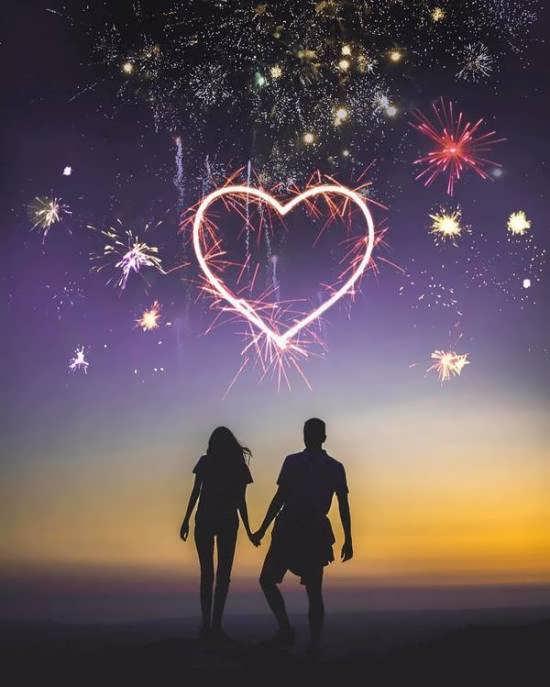 عکس دو نفره رمانتیک
