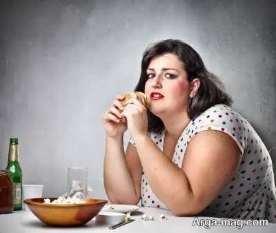 علایم اعتیاد به غذا