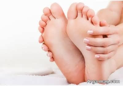 رفع خشکی پا با اسکراب های طبیعی