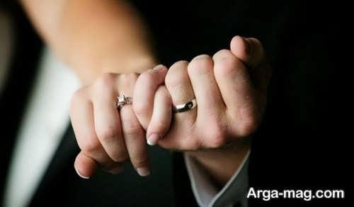 ژست عکس عروس و داماد