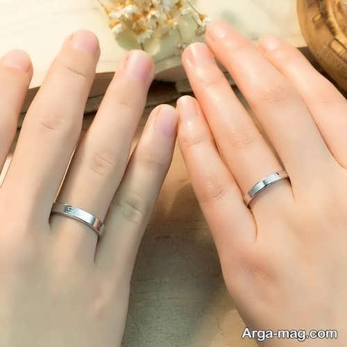ژست حلقه برای عروس