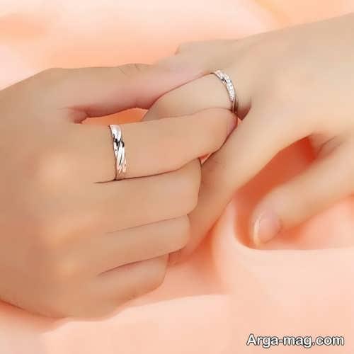 ایده عکس ساده برای عروس و داماد