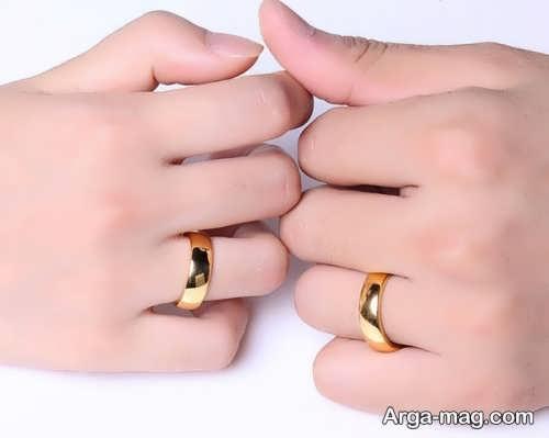 فیگور عکس دست با حلقه