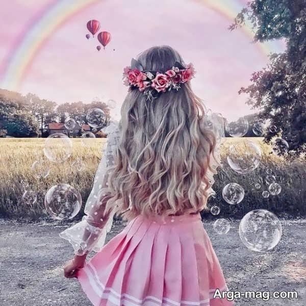 عکس نوشته جدید و زیبا دخترانه