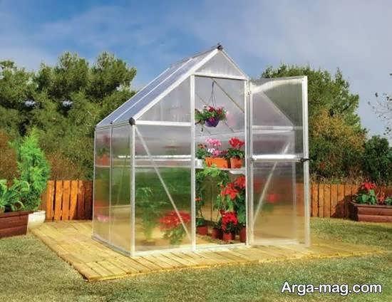 ایجاد گلخانه زیبا و ماندگار در پشت بام خانه