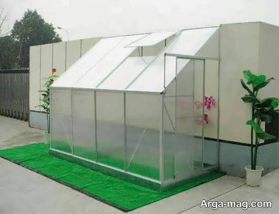 ایجاد و ساخت یک گلخانه در پشت بام زیبا و سرسبز