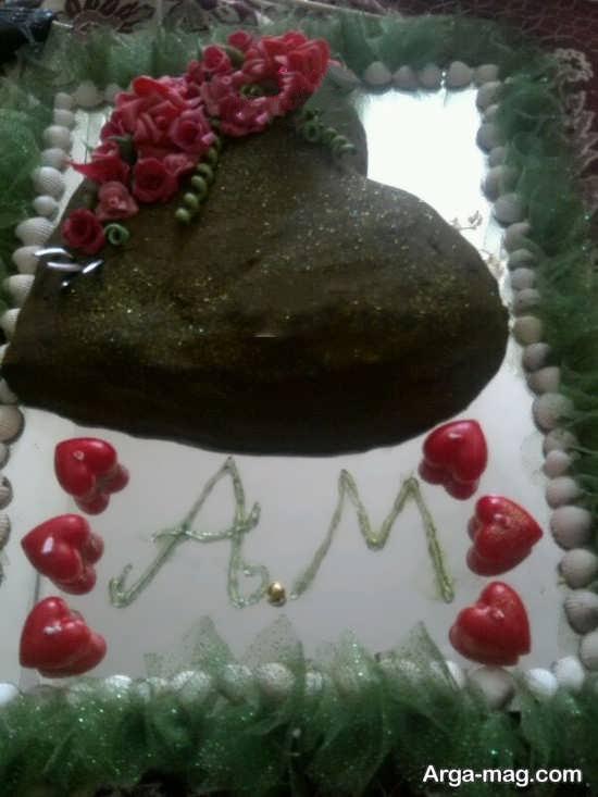 تزئینات قلبی حنا عروس