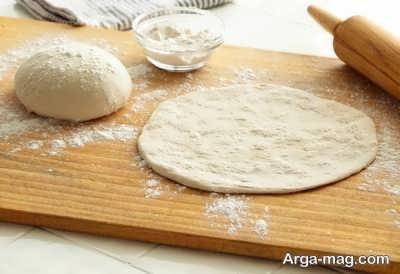 مراحل تهیه پیتزا استیک