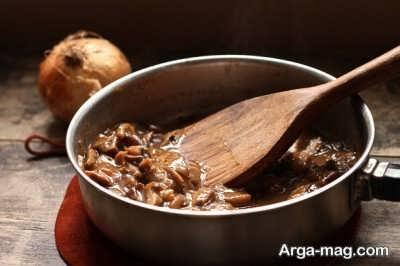 طرز تهیه قارچ کاراملی