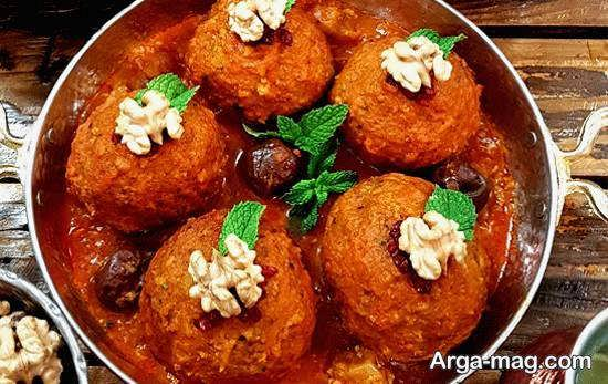 طرز تهیه کوفته هویج کرمانشاهی خوشمزه و لذیذ