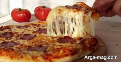 دستور پخت پیتزای پنیر