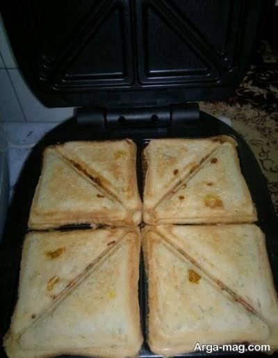 طرز درست کردن اسنک پیتزایی