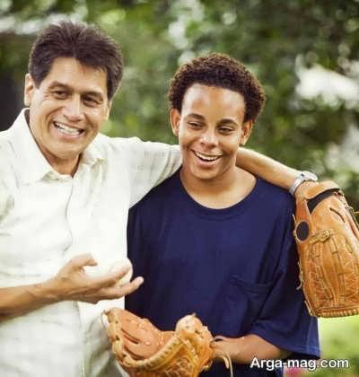 کیفیت رابطه پدر و پسر