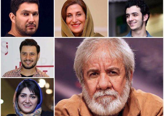 حامد بهداد و فاطمه معتمد آریا و جواد عزتی از بازیگران فیلم سینمایی جاندار