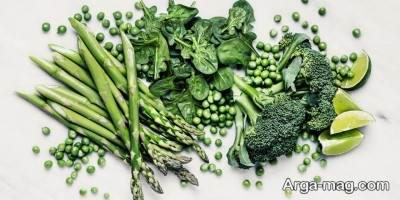 مصرف سبزیجات و میوه جات در رژیم جیم