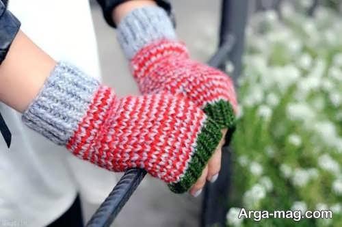 دستکش رنگی