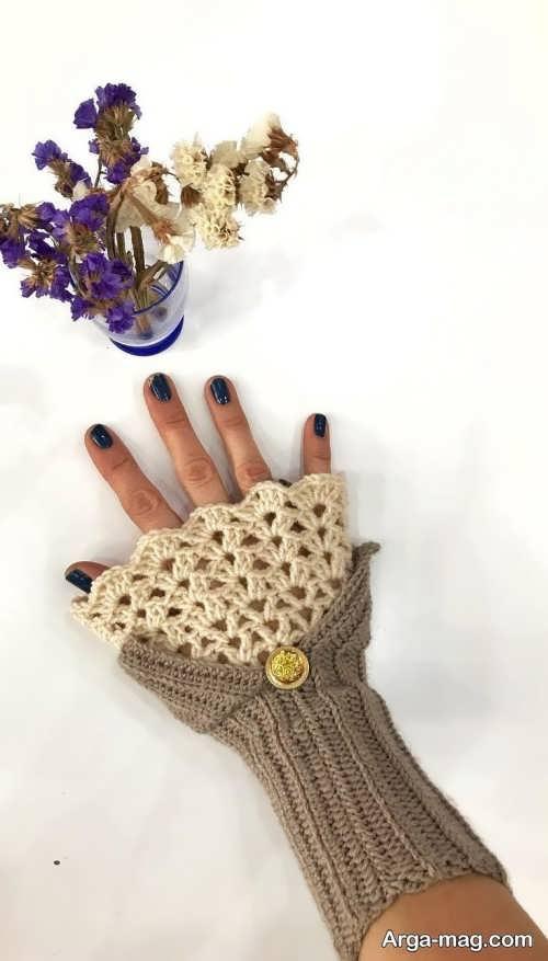 دستکش شیک و زیبا
