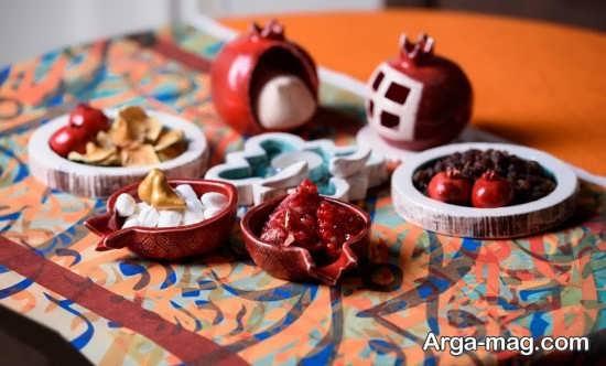 تزئینات ایده آل میز شب یلدا