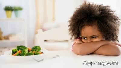 غذا نخوردن کودکان