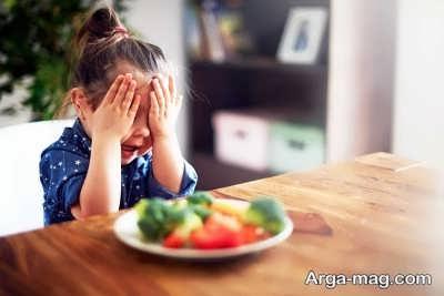 بد غذا شدن کودکان و راه های رفع آن