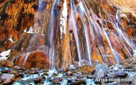 دیدنی های آبشار مارگون
