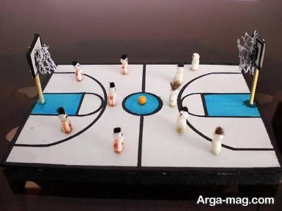 مدل کاردستی ورزشی با طراحی قشنگ