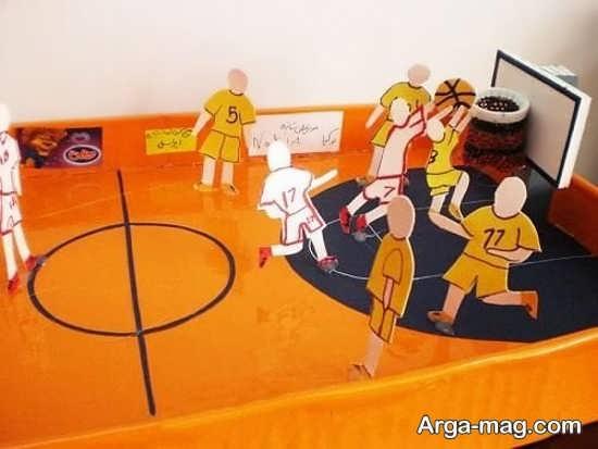 مدل کاردستی ورزشی با طراحی جذاب