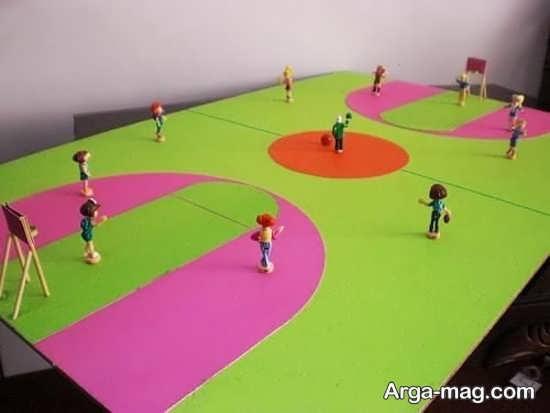 مدل های خلاقانه کاردستی درباره ورزش
