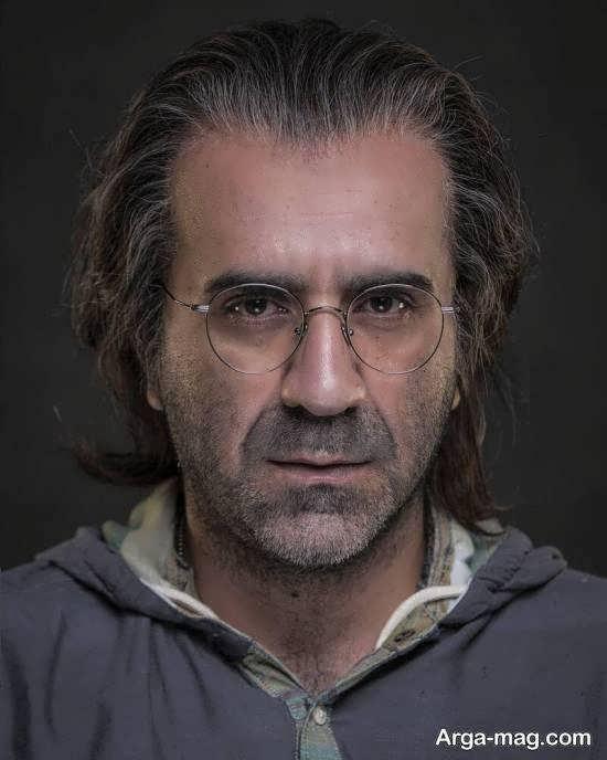 گریم متفاوت مهدی حسینی نیا در فیلم سینمایی گورکن