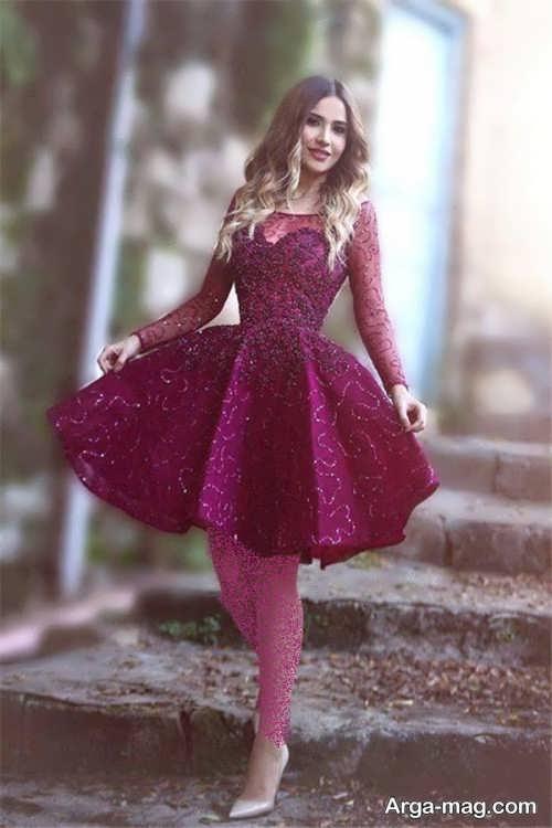 لباس مجلسی زیبا و جدید