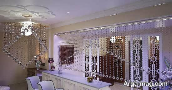نواع مدل پرده آویز زیبا و شیک برای جداسازی منزل