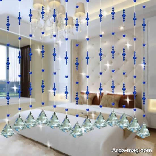 انواع طرح های زیبا و شیک پرده آویز برای پنجره و در و ...