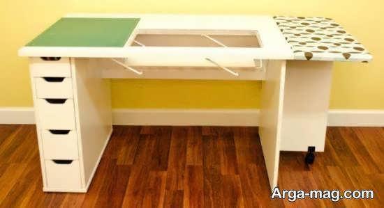 متنوع ترین و کاربردی ترین ایده های میز چرخ خیاطی