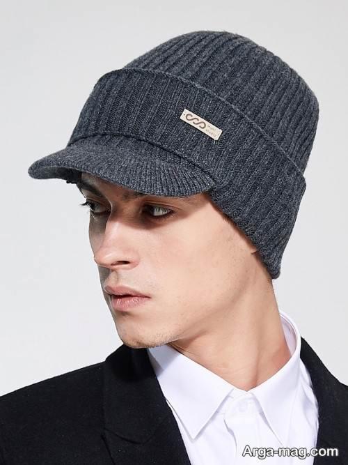 کلاه بافت شیک و زیبا