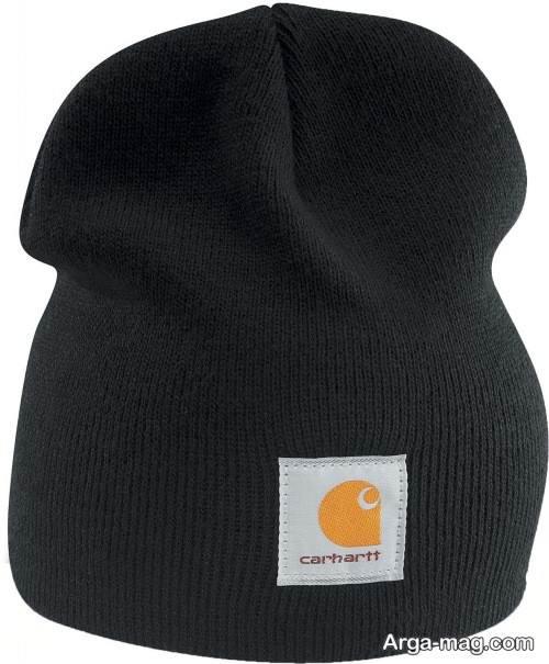 مدل کلاه بافت ساده