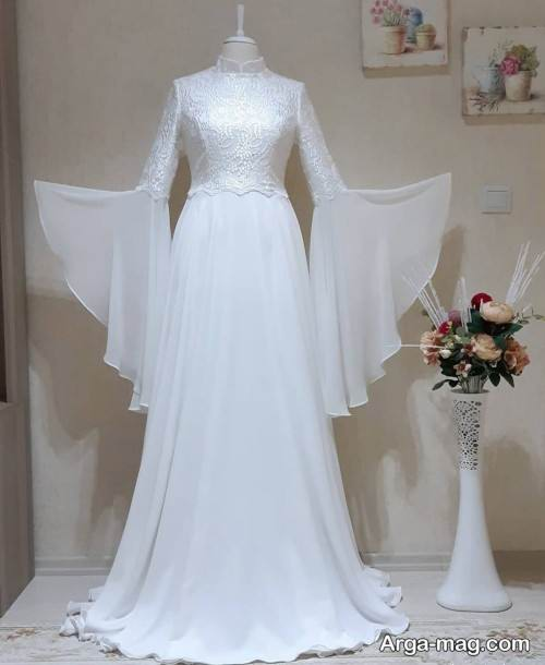لباس عروس حریر
