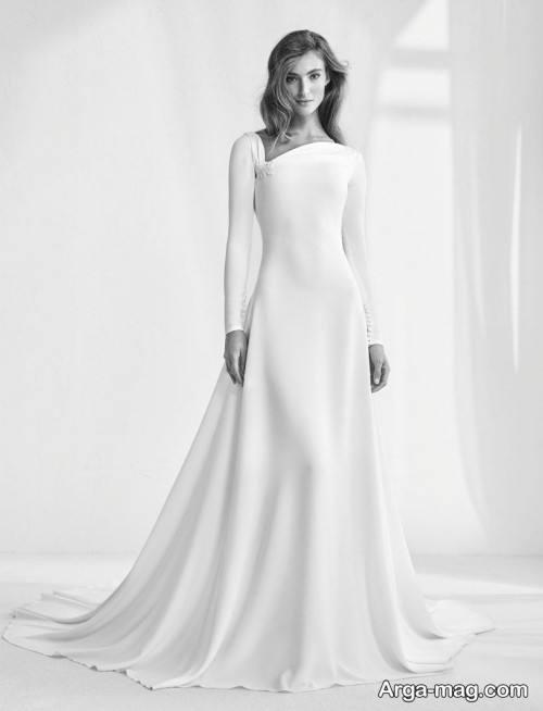 پیراهن عروس ساده