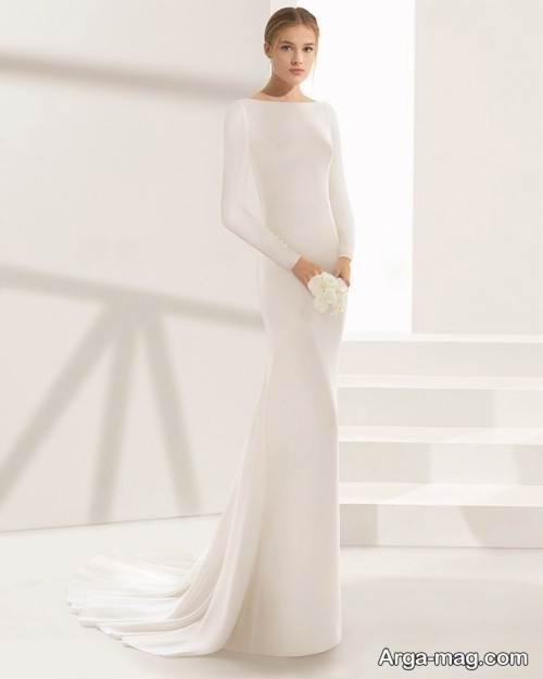 پیراهن عروس ساده و زیبا