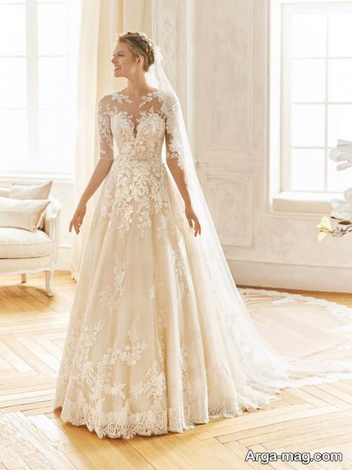 پیراهن عروس گیپور