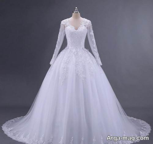مدل لباس عروس خاص