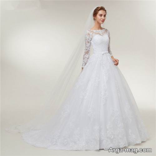 مدل پیراهن عروس زیبا