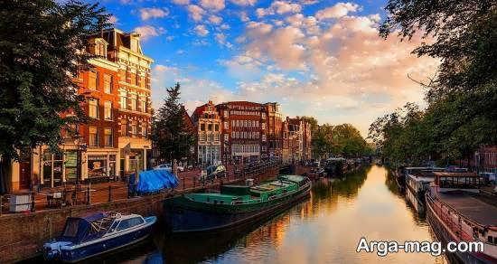 کشور هلند از کشورهای اروپایی سرسبز و آباد مناسب برای گردشگری
