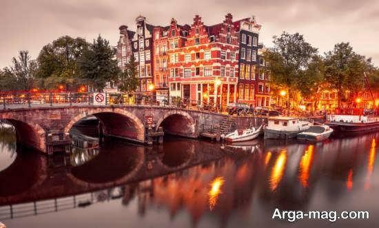 سرزمین هلند دارای دین مسیحیت و مذهب پروتستان