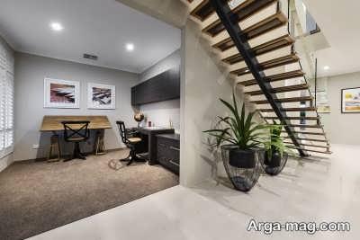 ایجاد فضایی برای اتاق کار به منظور استفاده از فضاهای پرت خانه