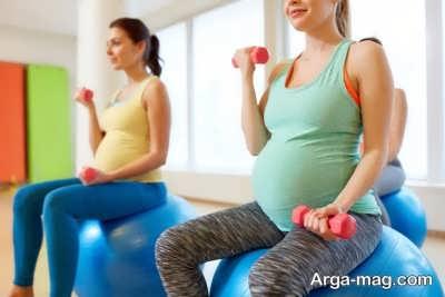انجام حرکات صحیح در دوران بارداری