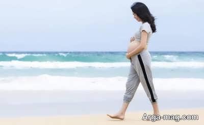پیاده روی و تردمیل در بارداری بسیار موثر می باشد