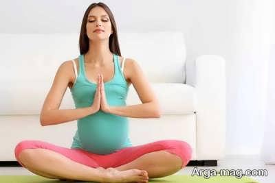 یوگا و آرامش در ورزش و دوئران بارداری